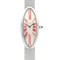 Cartier Baignoire White gold 22.6mm Silver United States of America, California, Beverly Hills