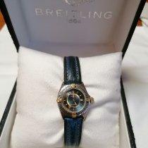 Breitling Callistino Золото/Cталь Синий