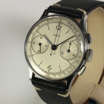 Jaeger-LeCoultre Steel 35mm Manual winding pre-owned