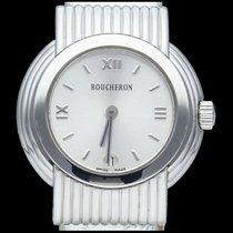 Boucheron Reflet Steel 26mm Silver Roman numerals