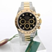 Rolex 16523 Oro/Acciaio 1990 Daytona 40mm usato Italia, Roma