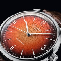 Glashütte Original Sixties Acier 39mm Orange France, NEUILLY PLAISANCE