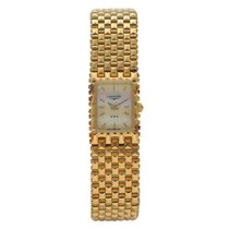 Longines Lindbergh Hour Angle pre-owned 16mm Mother of pearl