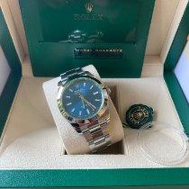 Rolex Milgauss Staal 40mm Blauw Geen cijfers Nederland, Den haag