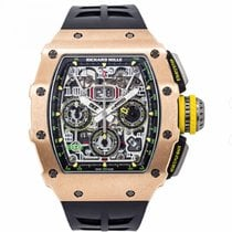 Richard Mille RM 011 Rose gold Transparent Arabic numerals United States of America, New York, New York