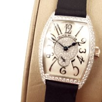 Franck Muller Cintrée Curvex White gold 25mm White Arabic numerals United States of America, New York, Scarsdale