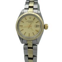 Rolex Lady-Datejust Aur/Otel 26mm Auriu Fara cifre