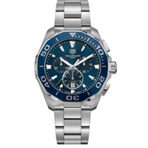 TAG Heuer Aquaracer 300M Steel 43mm Blue No numerals United States of America, New York, New York