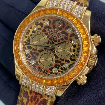 Rolex Daytona Yellow gold 40mm Orange No numerals United States of America, New York, Manhattan