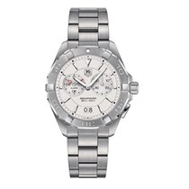 TAG Heuer Aquaracer 300M Steel 40.5mm Silver No numerals United States of America, New York, New York