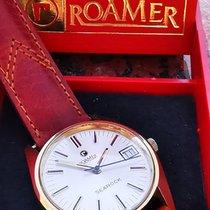 Roamer Acero y oro 34mm Cuerda manual 521.2210.339 usados