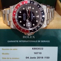 Rolex GMT-Master II Acero 40mm Negro Sin cifras España, BENAGALBON