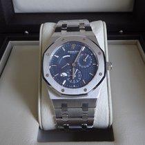 Audemars Piguet Royal Oak Dual Time Steel 39mm Blue No numerals United States of America, New York, Manhattan