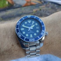 Seiko Prospex pre-owned Blue Date Steel