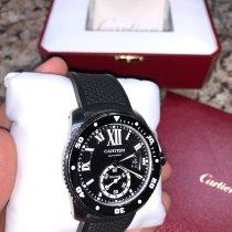 Cartier Calibre de Cartier Diver Steel 42mm Black Roman numerals United States of America, Texas, Dallas