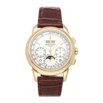Patek Philippe Perpetual Calendar Chronograph Yellow gold 41mm Silver No numerals United States of America, Pennsylvania, Bala Cynwyd
