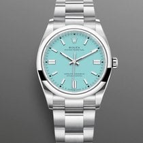 Rolex Oyster Perpetual 36 Steel 36mm Blue No numerals United States of America, Florida, Miami