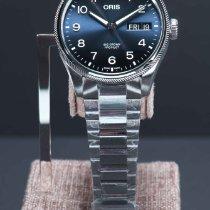 Oris Big Crown ProPilot Day Date Steel 45mm Blue Arabic numerals