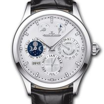 Jaeger-LeCoultre Master Eight Days Perpetual White gold Silver United States of America, Florida, North Miami Beach