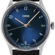 Oris Artelier Steel 38mm Blue United States of America, New York, Airmont