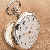 Girard Perregaux Plata 48mm Cuerda manual Girard-Perregaux silver pocket watch usados
