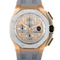 Audemars Piguet Royal Oak Offshore Chronograph Rose gold 44mm Grey Arabic numerals