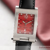 Corum Tabogan Acero 26.5mm Rojo