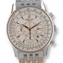 Breitling Montbrillant Steel 38mm Silver United States of America, New Hampshire, Nashua