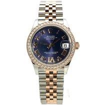 Rolex Lady-Datejust Gold/Stahl 31mm Violett Römisch Deutschland, Bietigheim-Bissingen