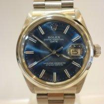 Rolex Oyster Perpetual Date Acciaio 34mm Blu Senza numeri Italia, Civitanova Marche