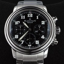 Blancpain Léman Fly-Back Staal 38mm