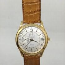 Zenith Elite Chronograph Classic Yellow gold 37,00mm Silver No numerals