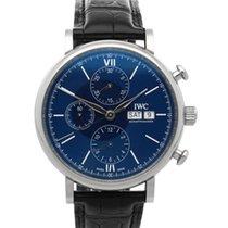 IWC Portofino Chronograph Stahl 42mm Blau Deutschland, Bamberg