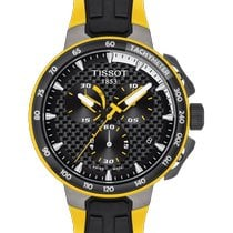 Tissot T-Race Cycling Steel 44.5mm Black No numerals