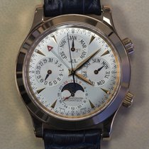 Jaeger-LeCoultre Rose gold Automatic Silver (solid) No numerals 41,5mm pre-owned Master Memovox