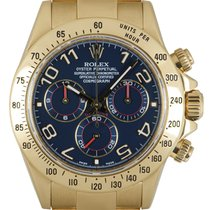 Rolex Daytona Yellow gold 40mm Blue Arabic numerals United Kingdom, London