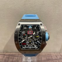 Richard Mille RM 011 pre-owned 50mm Transparent Rubber