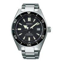 Seiko Prospex Steel 41 mmmm Black No numerals