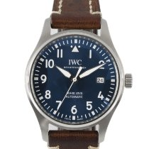 IWC Pilot Mark Steel 40mm Blue