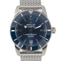 Breitling Superocean Heritage II 42 Steel 42mm Blue
