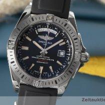 Breitling Galactic 44 Сталь 44mm Черный