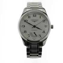Longines Master Collection pre-owned Silver Steel