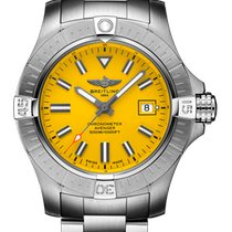 Breitling Steel 43mm Automatic A17319101I1A1 new