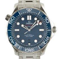 Omega Seamaster Diver 300 M Steel 42mm Blue
