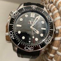 Omega Seamaster Diver 300 M Acier 42mm Noir Sans chiffres France, Biot