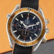 Omega Seamaster Planet Ocean Chronograph Acier 45.5mm Noir