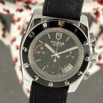 Tudor Grantour Chrono Steel 40mm Black