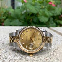Rolex 16233 Gold/Steel 1995 Datejust 36mm pre-owned United Kingdom, London