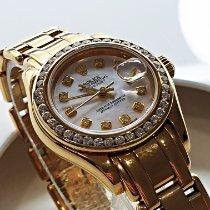 Rolex Lady-Datejust Pearlmaster Gelbgold 29mm Perlmutt Römisch Deutschland, Puchheim bei München