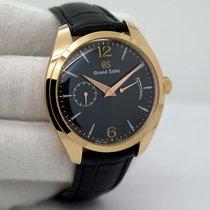 Seiko Rose gold Automatic Black pre-owned Grand Seiko